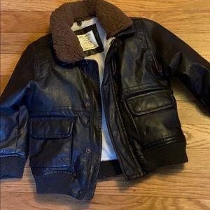 ZARA Toddler Brown Bomber Jacket Size 18-24 Months